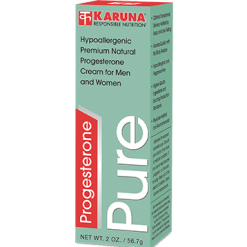 Karuna Progesterone Pure Cream 2 oz PRO14