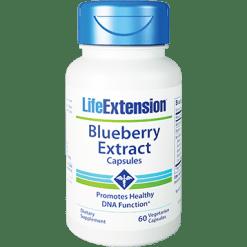 Life Extension Blueberry Extract 60 vegcaps L01214