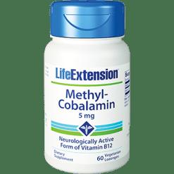 Life Extension Methylcobalamin 5 mg 60 lozenges L01537