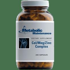 Metabolic Maintenance Cal Mag Zinc Complex 240 caps CAL48