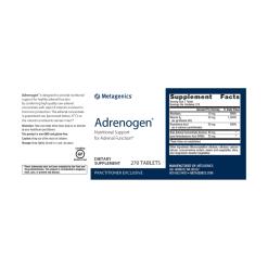 Metagenics Adrenogen Label