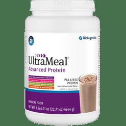 Metagenics UltraMeal Adv Protein Dutch Choc 644g M39579