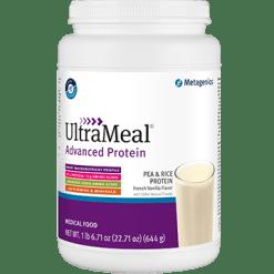 Metagenics UltraMeal Adv Protein Fr Vanilla 644g M39586