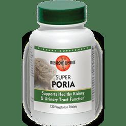 Mushroom Wisdom Inc. Super Poria 120 veg tabs M79093