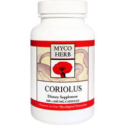 MycoHerb by Kan Coriolus Versicolor 100 caps MCO10