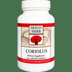 MycoHerb by Kan Coriolus Versicolor 200 capsules MCO20