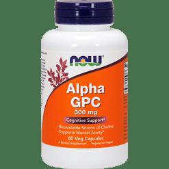 NOW Alpha GPC 300 mg 60 vegcaps N30856