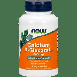 NOW Calcium D Glucarate 500 mg 90 vegcaps N30979