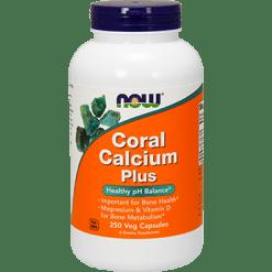 NOW Coral Calcium Plus 250 vcaps N1281