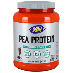 NOW Pea Protein Chocolate 2 lb N21335