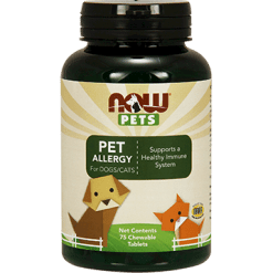 NOW Pet Allergy 75 chew tabs N43047