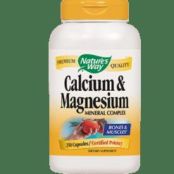 Natures Way Calcium Magnesium 250 caps CAL23