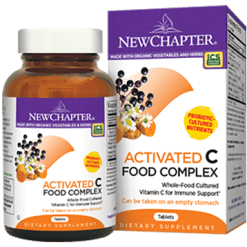 New Chapter Activated C Food Complex 180 tabs NC6318