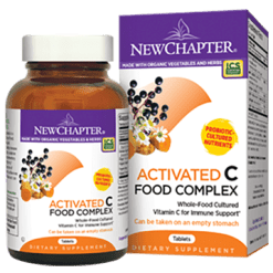 New Chapter C Food Complex 90 tablets CF630