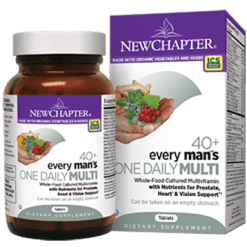 New Chapter Every Mans One Daily 40 72 tablets N0371