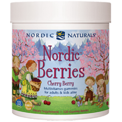 Nordic Naturals Nordic Berries Cherry Berry 120 Gummies N30126