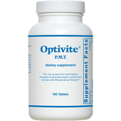 Optimox Optivitereg P.M.T 180 tablets A01033