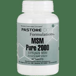 Pastore Formulations MSM 2000 mg 60 tablets PTF8