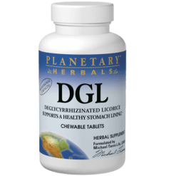 Planetary Herbals DGL Licorice 100 tabs PF0500