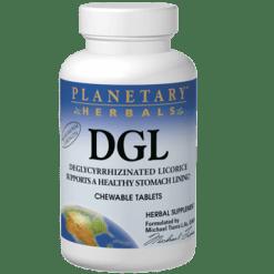 Planetary Herbals DGL Licorice 100 tabs PF0500