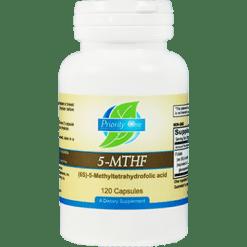 Priority One Vitamins 5 MTHF 120 caps PR1650