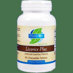 Priority One Vitamins Licorice Plus Chewable 90 tabs PR1618