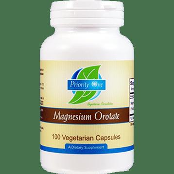 Priority One Vitamins Magnesium Orotate 100 capsules MAG92