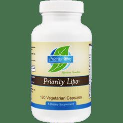 Priority One Vitamins Priority Lipo 120 vegcaps LIP45