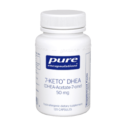 Pure Encapsulations 7 Keto DHEA 50 mg 120 vcaps 7KET2