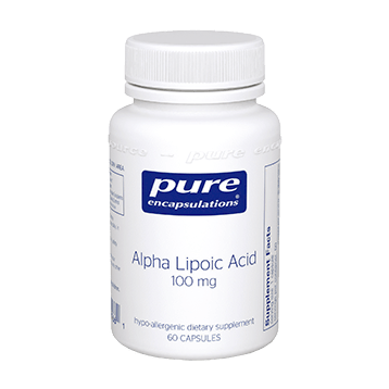 Pure Encapsulations Alpha Lipoic Acid 100 mg 60 vcaps ALP10