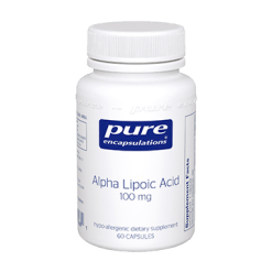 Pure Encapsulations Alpha Lipoic Acid 100 mg 60 vcaps ALP10