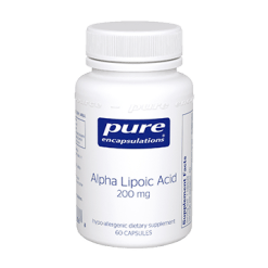 Pure Encapsulations Alpha Lipoic Acid 200 mg 60 vcaps ALP12