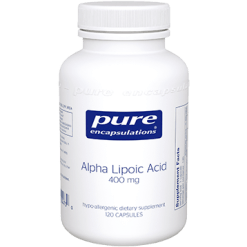 Pure Encapsulations Alpha Lipoic Acid 400 mg 120 vcaps ALP15