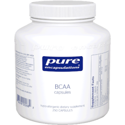 Pure Encapsulations BCAA 600 mg 250 vegcaps BCAA7