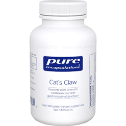 Pure Encapsulations Cats Claw 180 vegcaps CATS4
