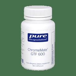 Pure Encapsulations ChromeMate GTF 600 180 vcaps CHR28