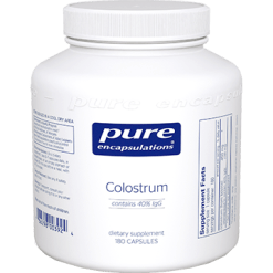 Pure Encapsulations Colostrum 40 IgG 450 mg 180 vegcap COL15