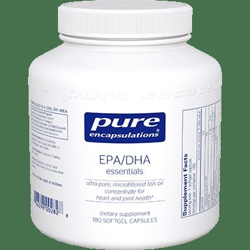 Pure Encapsulations EPA DHA Essentials 1000 mg 180 gels EPA16