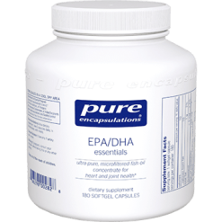 Pure Encapsulations EPA DHA Essentials 1000 mg 180 gels EPA16