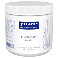 Pure Encapsulations L Glutamine Powder 227 gms GLU60