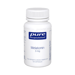 Pure Encapsulations Melatonin 3 mg 60 vcaps MEL24