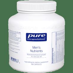 Pure Encapsulations Mens Nutrients 180 vcaps MEN1