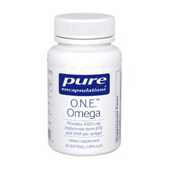 Pure Encapsulations O.N.E.™ Omega 30 softgels P16153