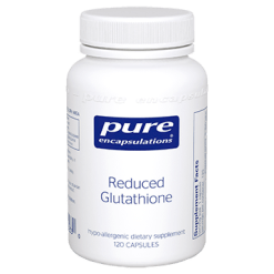 Pure Encapsulations Reduced Glutathione 100 mg 120 vcaps GLU62