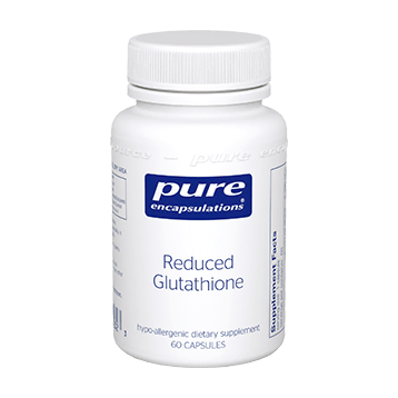 Pure Encapsulations Reduced Glutathione 100 mg 60 vcaps GLU61