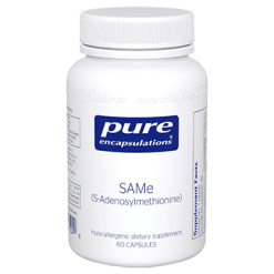 Pure Encapsulations SAMe S Adenosylmethionine 60 caps P15040
