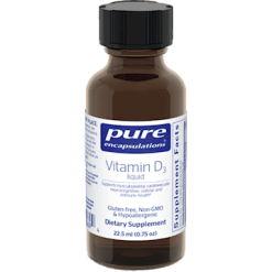 Pure Encapsulations Vitamin D3 Liquid 22.5 ml VDL22