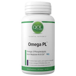 QOL Labs Omega PL 60 softgel Q12428