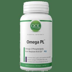 QOL Labs Omega PL 60 softgel Q12428