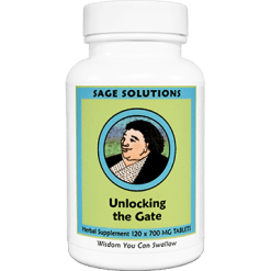Sage Solutions by Kan Unlocking the Gate 120 tablets UG120